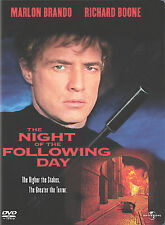 Night of the Following Day DVD BRANDO RICHARD BOONES TORTURES KIDNAPPED GIRL