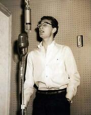 Buddy Holly Hall of Fame Music 8 x 10 Glossy Photo Poster Print