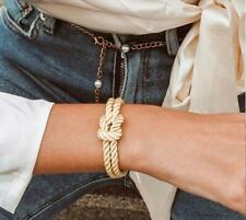 Bracciale da donna in corda nautica marinaio braccialetto con nodo  moda