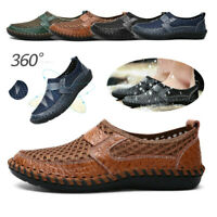 Chic Men's Mesh Breathable Comfort Loafer Casual Shoes Slip on Drive Moccasins