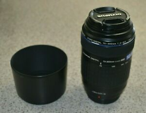 Olympus Zuiko Digital 70-300mm f4.0-5.6 Telephoto Zoom Lens Plus Hood