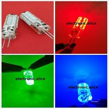 G4 2W 2 watt 24LED SMD 3014 LED Red Green Blue Light Bulb DC 12V