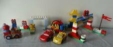 Lego Duplo Disney Pixar CARS 6133 Race Day & 5817 Mater, 2 complete sets + 5819