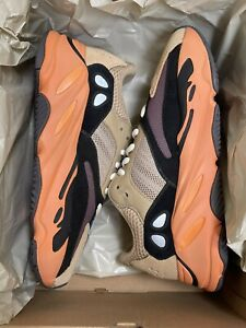 """adidas Yeezy Boost 700 """"Enflame Amber"""" Men's Size 7.5 Women's Size 9 GW0297 NEW"""