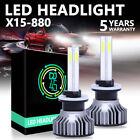 4-Sides 880/881 LED Headlight Fog Bulbs Kit 160W 6000K White Light Bulb 28000LM