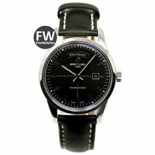 Relojes de pulsera fechos Breitling de piel