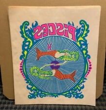 "1970 Vintage ROACH  ""Heat Transfer"" Astrological Sign PISCES   11x13 (V31)"