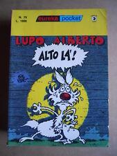 Lupo Alberto Alto La' - Eureka Pocket  n°79 1983 ed. Corno [G404]