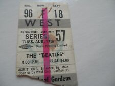 THE BEATLES Original__1965__CONCERT TICKET STUB__Maple Leaf Gardens