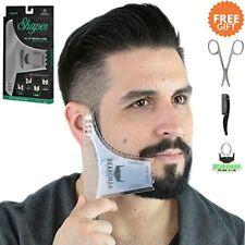 6 In 1 Beard Comb Shaper Kit Mustache Template Shaping Tool Razor Trimmer Liner