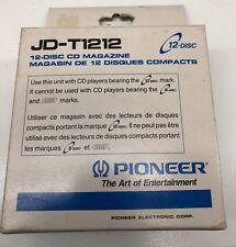 *BRAND NEW* Pioneer JD-T1212  CD Cartridge 6 Disc Old Skool