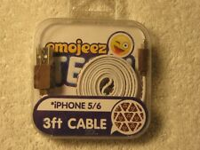 Emojeez Tech iPhone 5/6/7/8/X/XR/XS Sync&Charge Cable