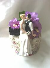So Much in Love topper for wedding cake bride and groom figurine decoration