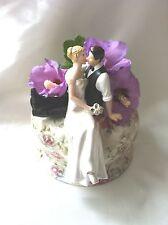 Tanto en el amor Topper para Pastel De Bodas Decoración estatuilla de novia y el novio