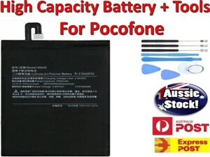 OEM Replacement Battery BM4E For Pocophone F1 High Capacity + Tools  + Warranty