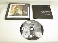 WIZARDRY LLYLGAMYN SAGA Best Item ref/ccc PS1 Playstation Japan Game p1