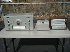 Vintage Post 1947 National HRO-7T Ham Receiver Tested Wrking W/Coils P.S. Manual