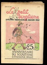 TINTIN LE PETIT TWENTIETH no.19 12 may 65531.5oz'île BLACK HERGé