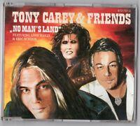 Tony Carey & Friends Maxi-CD NO MAN'S LAND Extended V. 1990 A. Haigis 873 757-2