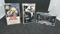 Lot of 3 New Kids on The Block Cassette Tapes First Album Hangin Tough Christmas