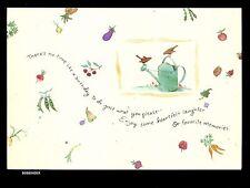Vintage Hallmark Marjolein Bastin Card THERE'S NO TIME LIKE A BIRTHDAY