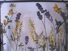 Lavender & Framed Botanical flowers, Dried Flower Frame, Pressed Flowers Frame