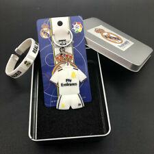 11# Soccer suit Keychain Wristband Wristlet Real Madrid Soccer Football Club Fan