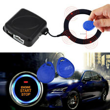 12V Car Start Stop Button Engine Push Start Alarm Rfid Lock Keyless Anti-Theft