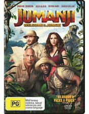 Jumanji: Welcome to the Jungle (DVD, 2017)