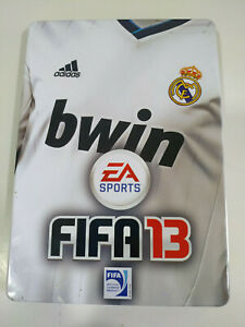 Fifa 13 EA Real Madrid Ed Special Steelbook Set PLAYSTATION 3 PS3 sony - 2T