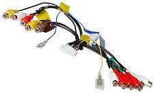 Câble faisceau adaptateur RCA 24PIN pour Pioneer AVIC-D3 F700BT F900BT F910BT