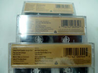 Lot 3 The 80's Biggest Country Hits Vol 1 2 3 Various Artists Cassette MCA 2 New