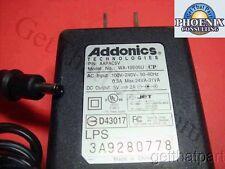 Addonics OEM WA-10E05U 5V 2A Power Supply Adapter