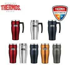 Thermos STAINLESS STEEL VACUUM Insulated Travel Mug Thermo with Handle 470ml