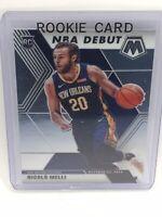 2019-2020 PANINI MOSAIC BASKETBALL #279 NICOLO MELLI ROOKIE CARD NBA DEBUT
