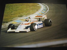 Photo Arrows BMW A7 1984 #18 Thierry Boutsen GP F1 Zandvoort (NL) + autograph
