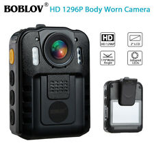 Boblov 1296P FHD Police Body Camera Action Cam Video Camcorder Waterproof H.264