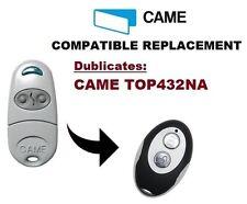 CAME TOP432NA Garage Door/Gate Remote Control Replacement/Duplicator