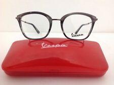 Vespa Occhiale Da vista Md 2101 Plastica Grigio Metallo Argento €150 Donna Gatta