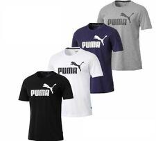 Puma T Shirt Lifestyle Mens Gym Sports Tee Top Size S M Large XL XXL Black White