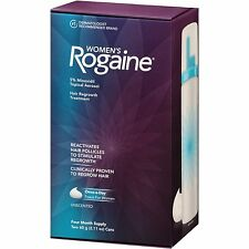 Women's Rogaine Unscented 4 Month Supply Foam EXP 07/2018 or better