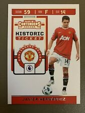 2019-20 CHRONICLES CONTENDERS HISTORIC TICKET JAVIER HERNANDEZ - MANCHESTER U