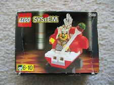 LEGO Castle Chess - Super Rare Castle Chess King 2586 - New (box shows wear)