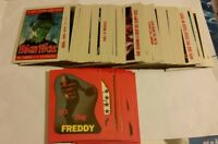 fright flicks horror movie trading cards topps 1988 rare complete your set