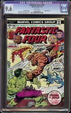 Fantastic Four # 166 CGC 9.6 White (Marvel, 1976) Hulk cover and appearance