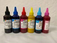 600ml SUBLIMATION BULK INK REFILL BOTTLES FOR CANON