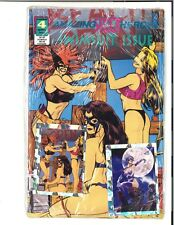 Amazing Spoof Heroes Swimsuit Special #4 SEALED W/ CARDS Adam Hughes cover 1993