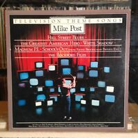 {OST}~EXC LP~MIKE POST~Television Theme Songs~{OG 1982~ELEKTRA~Issue]~