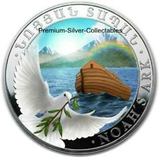 2020 Armenia Noah's Ark 1 Ounce Pure Silver Colorized Coin