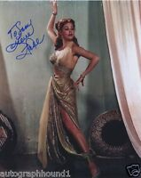 ARLENE DAHL SIGNED AUTOGRAPHED COLOR 8X10 PHOTO